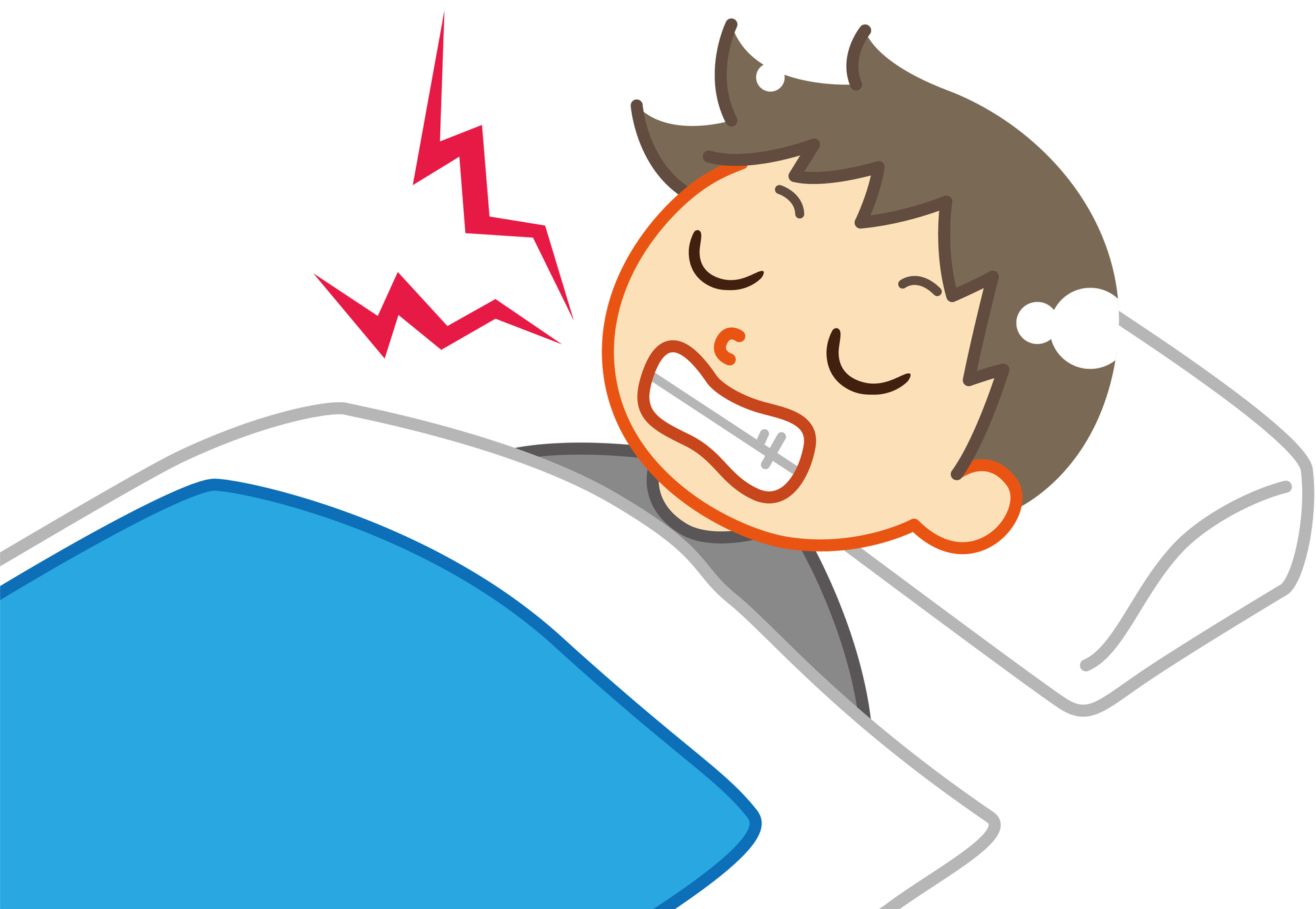 【歯科医監修】子どもの歯ぎしりって大丈夫?乳幼児の歯ぎしりを詳しく解説