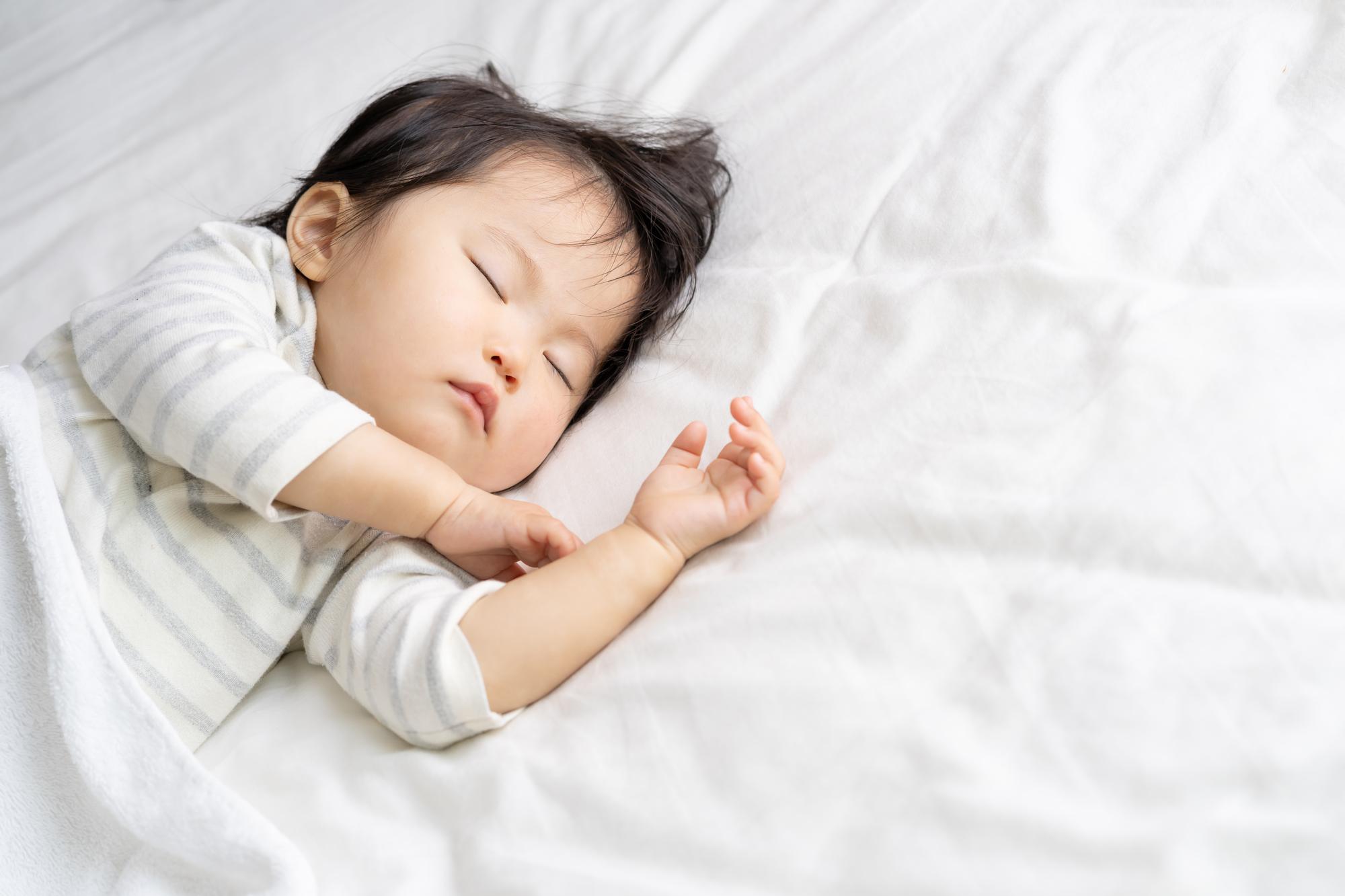 寝つきをよくするための1日の遊びスケジュールを解説